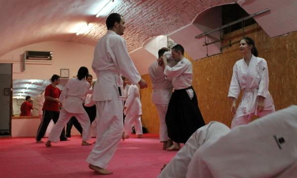Aikido seminar Csák Gergely