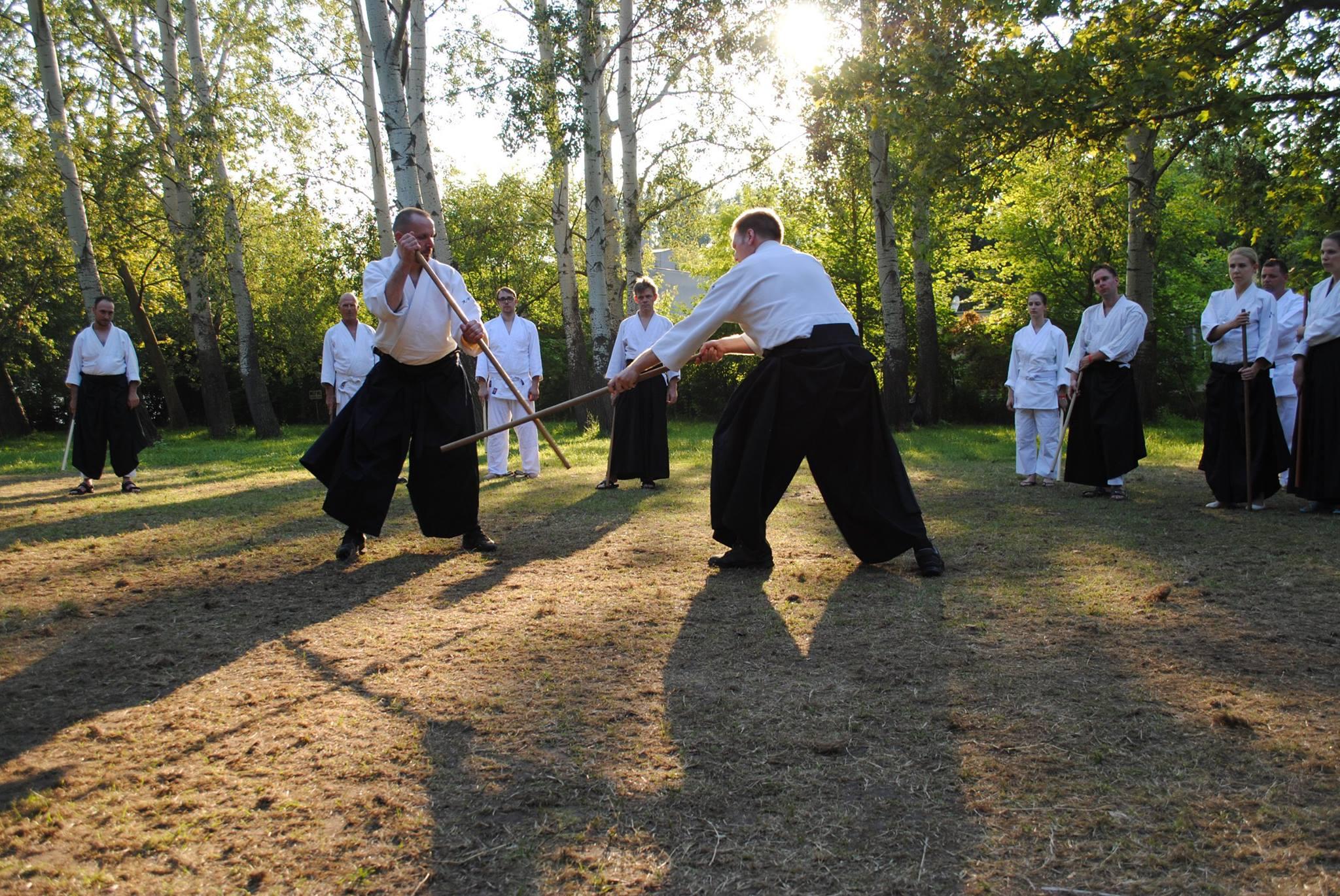 aikido edzőtábor Balatonkenese 2016