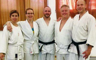 Sikeres kyu-vizsgák a nyári aikido-táborunkban