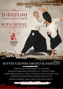 10 éves a Zumm Aikido – edzőtábor Bodo Rödel vezetésével