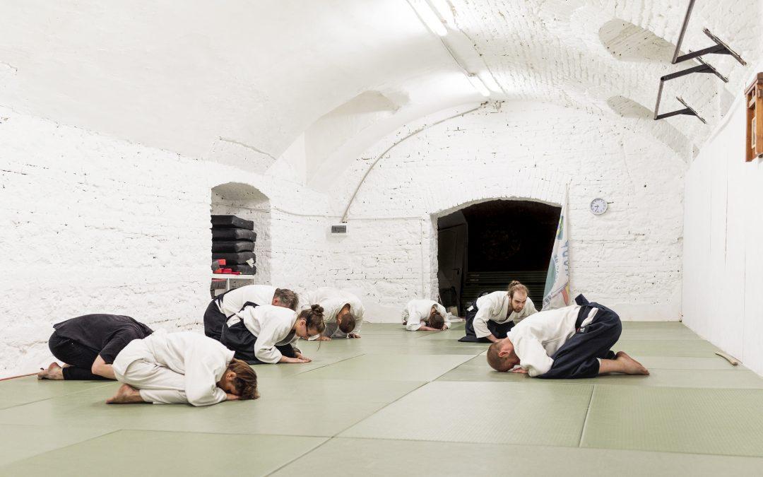 aikido meghajlás tisztelet