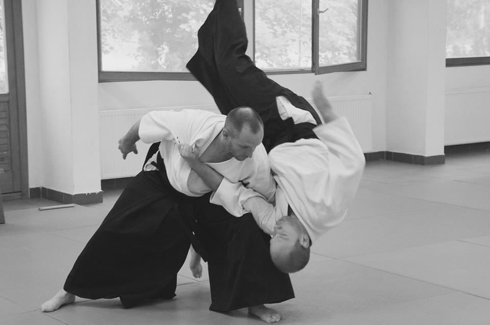 Stéphne Goffin aikido kokyu nage