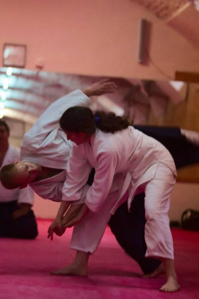 Képek: aikido-edzőtábor Csák Gergely vezetésével
