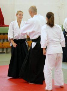 aikido women practice Bodo Rödel