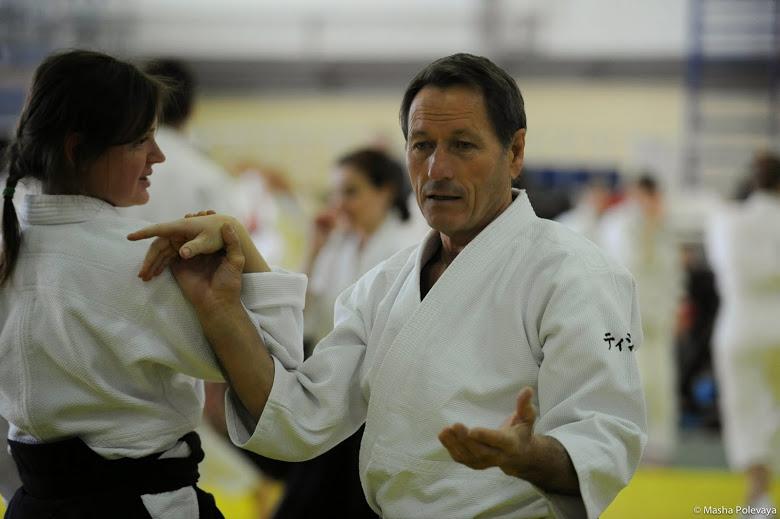 Christian Tissier aikido oktató